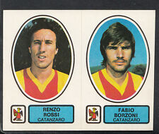 PANINI CALCIATORI FOOTBALL Adesivo 1977-78, N. 404, CATANZARO-Renzo Rossi