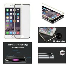 Genuine Glass Screen Protector 3d Edge to Edge for iPhone 8 7 6s 6 Plus Grey