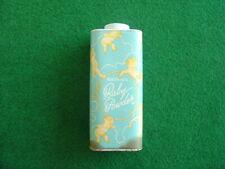 Vintage 60's unopened Watkins 14oz baby powder pack/packaging/grocery/chemist