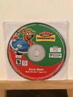 Pre-owned ~ Jump Start Early Math Kindergarten Computer Software CD-ROM 2009