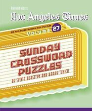 Los Angeles Times Sunday Crossword Puzzles, Volume 27 (Spiral Bound, Comb or Coi
