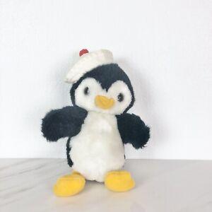 "Bearly People Penguin Plush 1984 8"""