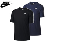Nike T Shirt Mens Tape Top Gym Tshirt Sport Training Cotton Tee Size S M L XL