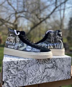Converse x Pleasures Now Pro Leather Mid Rare Sneaker Men's Size 13 165602C