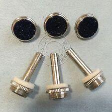 trumpet Repair parts 3pcs Finger Button+3 pcs Stem