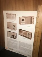 Vintage Olympic Radios And Portable Record Players Brochure