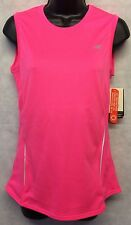 Women's New Balance Tempo Sleeveless Tank Top T Shirt Size Small Pink #4924