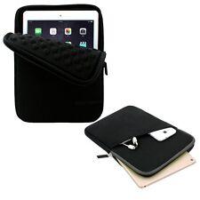 Apple iPad Pro 9.7 Case Waterproof Neoprene Sleeve Pocket Pouch Bag Slim Black