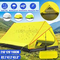 83'' Lightweight Ultralight Tent Backpacking Camping Waterproof Outdoor Shelter