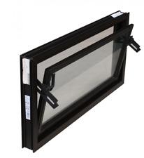 Kellerfenster braun 100x50 cm Einfachverglasung