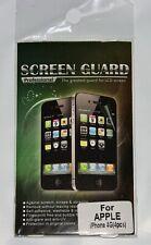 Screen Guard for Apple Iphone 4G Original Colors 4 Piecess