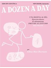 Edna Mae Burnam Una docena al día Learn to Play Present Gift MUSIC BOOK Piano