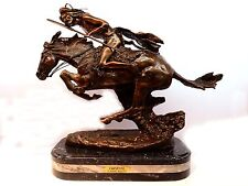 New Cheyenne Statue  Bronze Collectible Sculpture by F. Remington H21""