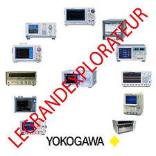 Ultimate Yokogawa  Operation, Repair & Service Manuals   (135 PDF manual on DVD)