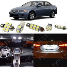 12x White LED Interior Lights Package Kit for 2004-2008 Acura TSX + Tool AT2W