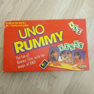 Vintage 1993 UNO Rummy Up Game - Spears Game Camper Van Holiday