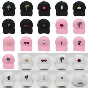 Fashion Unisex Baseball Cap Snapback Hat Embroidered Patches Hip Hop Adjustable