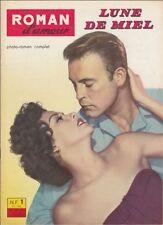 Roman d'Amour N° 4/1961 - Lune de Miel, Antonio Pager Anna Toekes Ida Turay