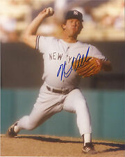 NEIL ALLEN NEW YORK YANKEES SIGNED AUTOGRAPHED ACTION 8X10 PHOTO W/COA