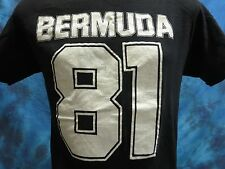 vintage 1981 BERMUDA T-Shirt SMALL/MED surf skate beach jersey super soft 80s