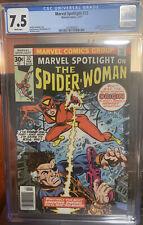 MARVEL SPOTLIGHT #32 ORIGIN/ FIRST APPEARANCE SPIDER-WOMAN/Jessica Drew CGC 7.5