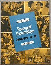 Dossier de Presse PASSEPORT DIPLOMATIQUE AGENT K8 Robert Vernay ROGER HANIN