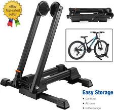 Bicycle Bike Floor Parking Storage Stand Display Rack Folding Holder Adjustable
