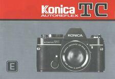 Konica Autoreflex TC Instruction Manual