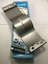 """Nickson #406 Pre-Formed Muffler Exhaust Band Strap Clamp Fits 3-1/2"""" O.D. Pipes"""