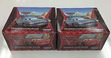 *Topps Disney PIXAR Cars 2 Card Game Booster Box (50 packs) x 2 -Value