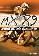 MX 89 MOTOCROSS 1989 DVD. DAVE THORPE 500cc WORLD CHAMP. 175 Mins. DUKE 4785NV