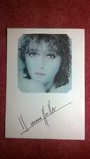 Original-Autogramm von Hanne Haller, mit s/w-Magazinbild, ins.Din A4