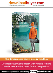 MAGIX Photostory 2021 Deluxe - [Boxed]