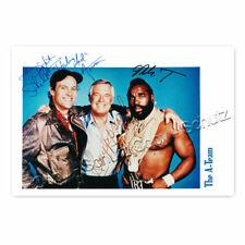Das A-Team -  TV Series (1983–1987) Kultserie mit George Peppard Autogramm [AK1]
