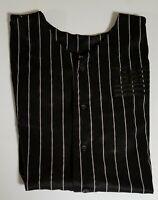 Tony Hawk Black 1998 Print Flag Jersey Shirt Men's XXL 2XL
