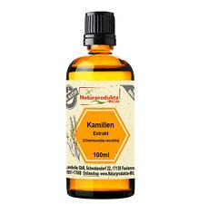 Kamillenextrakt (100 ml) Kamillen Extrakt Pflanzenextrakt Kamille
