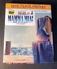 Mamma Mia Here We Go Again [ Limited Edition STEELBOOK ] (Blu-ray + DVD ) NEW