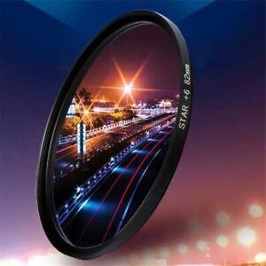 Camera Filter Starlight Lens Effects Light Transmittance Durable 4/6/8 Lines