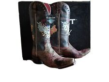 Ariat Pink & Sassy Gypsy Soul Boots Size 8B