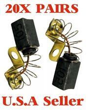 20X Pairs - Porter Cable Drywall Sander-N119739 Brush Set Brushes (40)