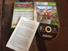 Far Cry 4 (Microsoft Xbox 360, 2014)Platinum Hits Used Free US Shipping