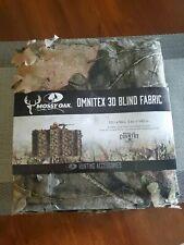 "Mossy Oak Omnitex 3D Camo Blind Fabric 12'x56"" Durable Blind Treestand"