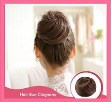 Heat Resistant Chignon Bun Hair Piece/ Hair Bun tray Wig / Scrunchie Bun*Blonde*