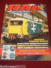 RAIL ENTHUSIAST #31 - RAILWAYS IN SOVIET UNION - APRIL 1984