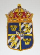 Medieval Sweden Swedish Royal Order Sword Knight Shield Patch Orden Award King