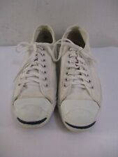 Vintage 1990s White Converse Jack Purcell Sneakers Usa Made Size 11