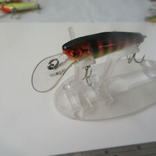 "FISHING LURE  BAGLEY 2½""    DEEP MINNOW  BLACK  RIBS"