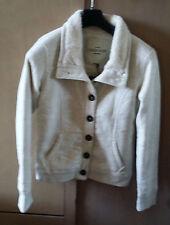 Veste Cardigan Molletonnée marque CHEROKEE Taille XS couleur écru NEUVE