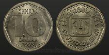 1993 Yugoslavia 10 Dinara - nice unc world coin