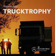 Prospekt Mercedes-Benz Trucktrophy 2015 Truck Trophy Lastwagen Broschüre LKWs